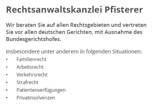 Anwalt in 74538 Rosengarten, Oberrot, Gaildorf, Fichtenberg, Untermünkheim, Vellberg, Mainhardt oder Michelbach (Bilz), Michelfeld, Schwäbisch Hall