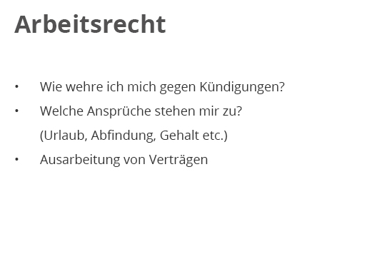 Arbeitsrecht für  Lorsch (Karolingerstadt)