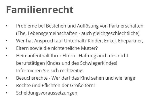 Familienrecht, Rechtsanwaltskanzlei in  Lorsch (Karolingerstadt)